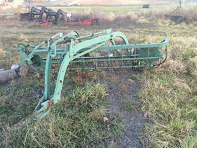 Oliver Model 107 Hay Rake Side Delivery Roller Bar Used Good Working Condition