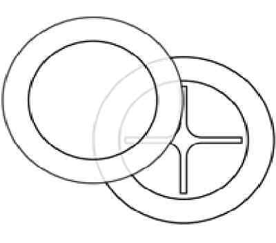 100 x Clear Car & Motorcyle Tax Disc Holders Permit Holders - Made in UK