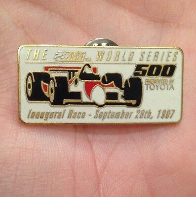 Rare! Toyota Cart Champion Series Inaugural Race Indy Cart Formula 1 Pin