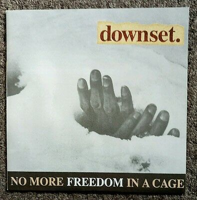 DOWNSET: No More Freedom In A Cage (1994 7 inch vinyl) ABS108