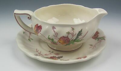 Royal Doulton China SHERBORNE D5915 Gravy Boat and Underplate VERY GOOD