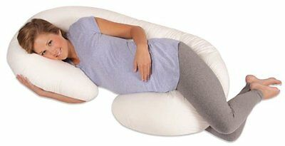 Snoogle Total Body Pillow Pregnancy, Comfort, Support, (Leachco Inspired)