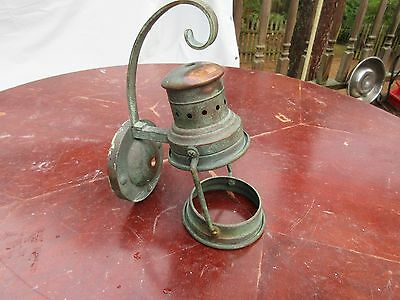 Vintage / Antque Brass Wall Lantern Lamp Outdoor Sconce Housing