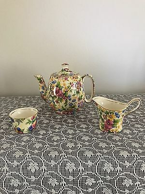 "Vintage Royal Winton ""Cheadle"" RD 1951 Tea For One Set"