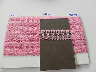 Card of New Lace - Pink Eyelet