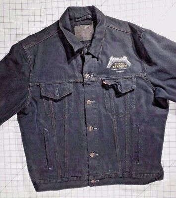 1993 Metallica Olympic Stadium, Stockholm, Sweden Crew XL LEVI's Denim Jacket