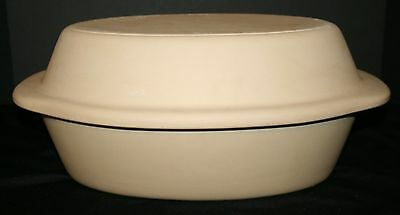 Stoneware Dutch Oven W/ Lid Bakeware MINT Clay Cooker Roasting Pan PAMPERED CHEF