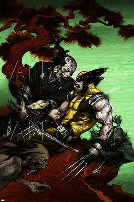 Marvel Wolverine: Soultaker No.3 Cover: Zombie and Wolverine Poster