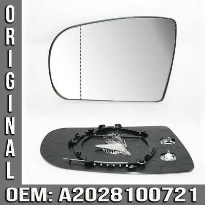 Mirror glass LS Replacement Exterior heated For Mercedes E-class W210 New