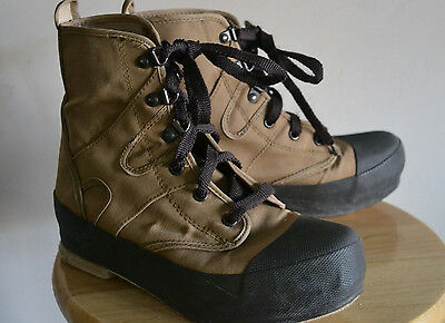 ORVIS FLY FISHING BOOTS Men's Size 8 Canvas Felt Bottom Wader