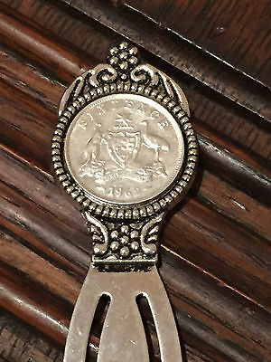 Choose the Year - Silver Sixpence - Bookmark
