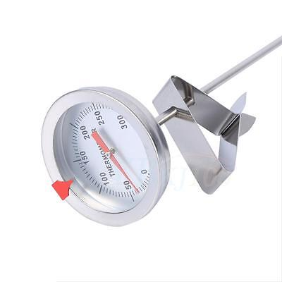 Digital Stainless Steel Food Thermometer BBQ Cooking Water Temp Measure Probe LJ