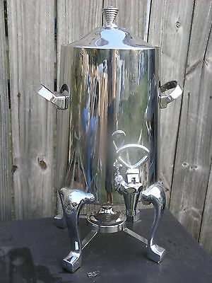 D.W. Haber & Sons Commercial Coffee Urn / Server w Thermovar Electric Pre-Heat a