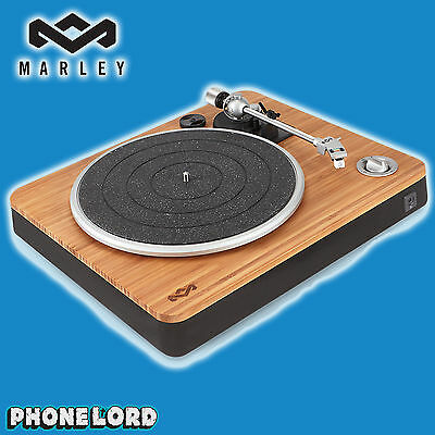 Genuine House of Marley Stir It Up turntable record vinyl player USB PC with Amp