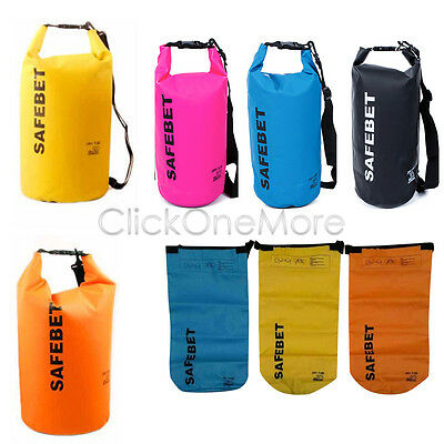 Waterproof Drift Floating Canoe Camp Swimming Lightweight Dry Bag Sack 10L MX