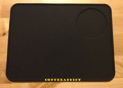 New Silicone  Coffee Tamper Holder And Tamping Mat For Baristas 20 x 15cm