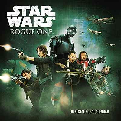 Star Wars Rogue One Official Square Wall 2017 Calendar BRAND NEW