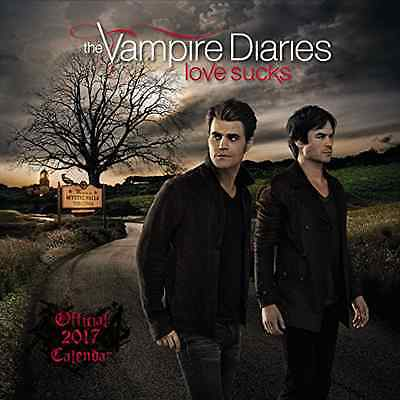 Vampire Diaries Official 2017 Square Wall Calendar TV Series Salvatore Brothers