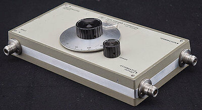 HP Agilent 394A Industrial Coax 1000-2000MHz 6-120DB Variable Attenuator