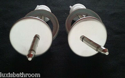 Brand New Toilet Seat Stainless Steel Hinges HS0402-P
