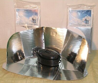 2  Portable Solar Cookers
