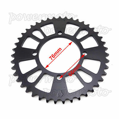 Pit Bike 420 43 Tooth Rear Sprocket For Pit Bike125 140 150 160cc IMR SSR CRF50