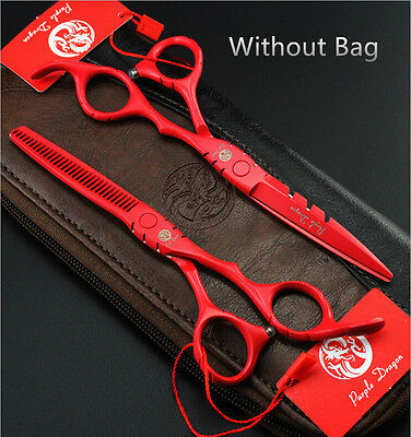 """Hairdressing Scissors 5.5""""  Barber Shears Cutting&Thinning Set"""