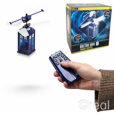 "New Doctor Who Remote Control Flying TARDIS Copter Helicopter 3"" Official"