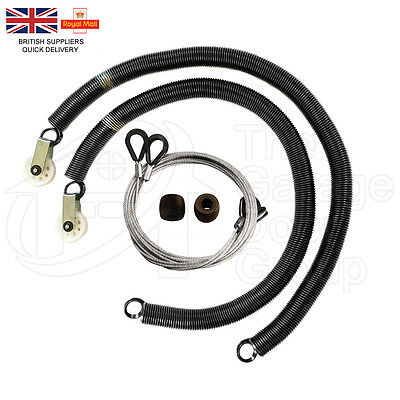 "Garador Mk3C PN58 30"" Garage Door Springs Repair Kit Cables Pulley PN440 Box"