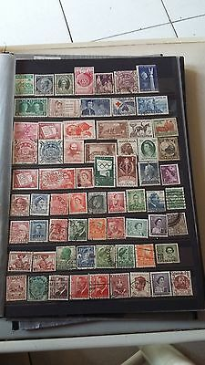 62 timbres des colonies Anglaises (lot3)