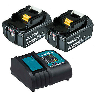 Makita 18V LXT Li-Ion 3.0Ah Battery Charger Combo Kit - BL1830 - AU Model