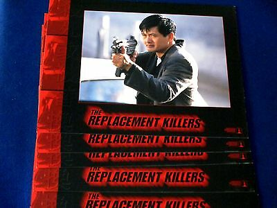 The Replacement Killers (1998) Original Sealed Lobby Cards Set 11X14 Inchs