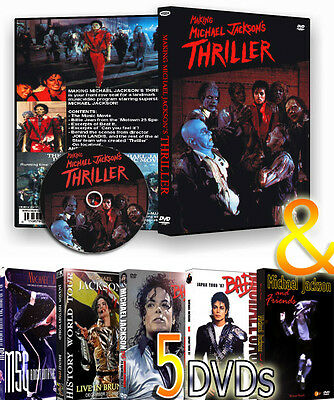 Michael Jackson  The Making Of Thriller + 5 Dvds More Than 10 Hour Rare Footage