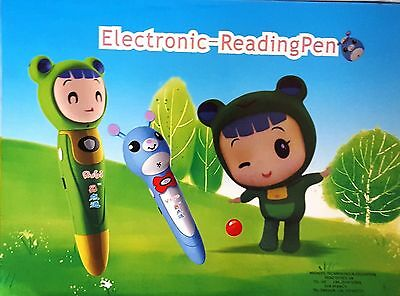Kids Toy Point and Play Electronic-Reading Pen With 6 Learning Books Set RRP£30