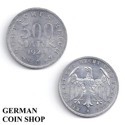 Germany Inflation 500 Mark 1923 A D E F G J - bitte auswählen/please select
