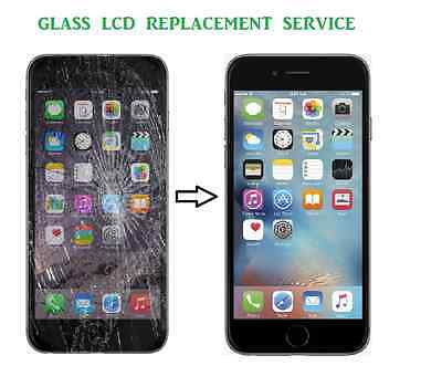 iPhone 6 Cracked Screen Digitiser LCD Replacement Service