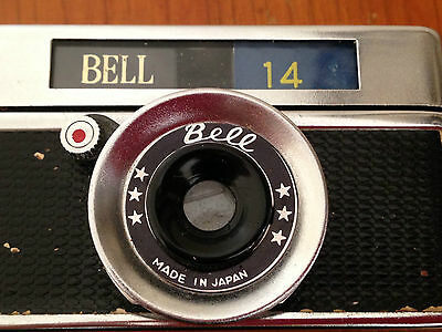 Vintage BELL 14 miniature camera. Made in Japan.