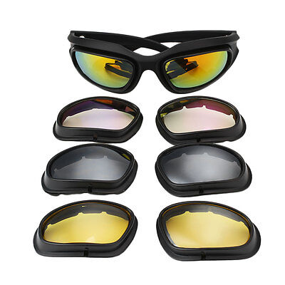 Polarized Goggles UV400 Hunting Military Sunglasses with Case Game Glasses