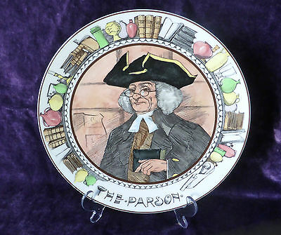 ROYAL DOULTON Vintage Collector Plate The Professionals  THE PARSON TC 1047