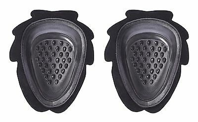 Motorcycle/Biker Knee Sliders Black PR6