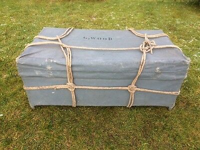 Vintage Sailors Trunk / Travelling Trunk