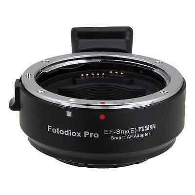 NEW Fotodiox EF-Sny(E) Fusion Smart AF Lens Mount Adapter, Canon EOS EF