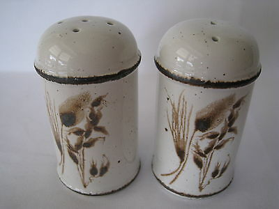 Stonehenge Oven-To-Tableware Salt & Pepper Shakers Midwinter England