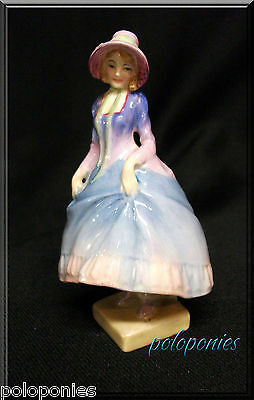 ROYAL DOULTON Pantalettes Figurine M15 - Retired 1945 - Miniature Series