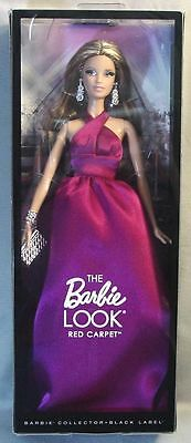 The Barbie Look Red Carpet Magenta Dress Barbie Nrfb