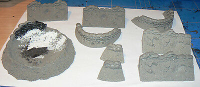 28mm Resin trench complex. Bolt action. warhammer. 40K. ww2 1. forgeworld ?