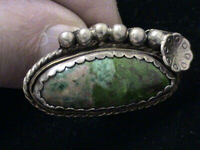 Sterling Silver and Turquoise Ring   1119201610037