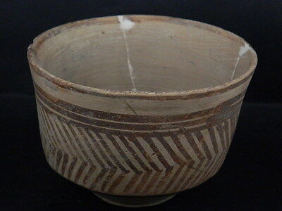 Ancient Large Size Teracotta Painted Pot Indus Valley 2500 BC  #PT15420
