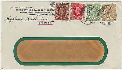 Great Britain Australia 1934 Direct Airmail Cover
