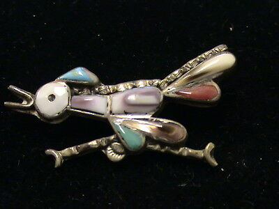 Sterling Silver, Coral, and Turquoise Pin   1119201610027